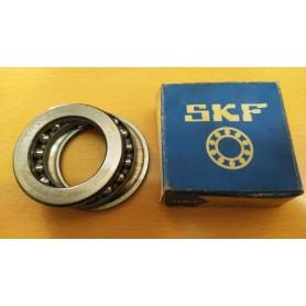 CUSCINETTO A SFERA ASSIALE SKF 51107 35x52x12 MM CASSA 183/A