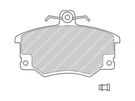 FDB370B - Pastiglie freno anteriore - Ferodo