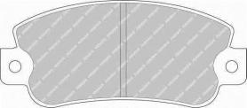 FDB351B - Pastiglie freno anteriore - Ferodo
