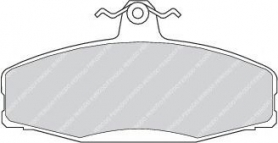 FDB610 - Pastiglie freno anteriore - Ferodo