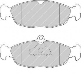 FDB732 - pastiglie freno anteriore - ferodo