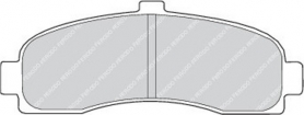 FDB859 - pastiglie freno anteriore - ferodo