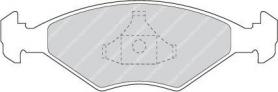FDB895 - pastiglie freno anteriore - ferodo
