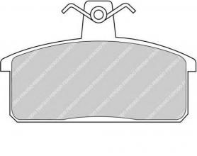 FDB906 - pastiglie freno anteriore - ferodo