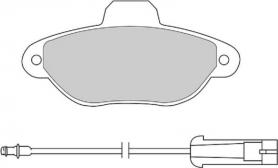 FDB925B - pastiglie freno anteriore - ferodo