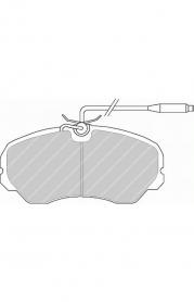 FVR510 - pastiglie freno anteriore - ferodo