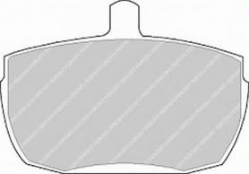 FVR829 - pastiglie freno anteriore - ferodo
