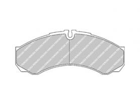 FVR1315 - pastiglie freno anteriore - ferodo