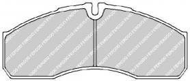 FVR1390 - pastiglie freno anteriore - ferodo
