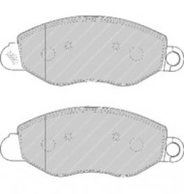 FVR1461 - pastiglie freno anteriore - ferodo