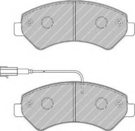 FVR1925 - pastiglie freno anteriore - ferodo