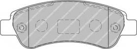 FVR1927 - pastiglie freno anteriore - ferodo
