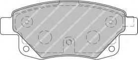 FVR1930 - pastiglie freno anteriore - ferodo