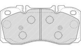 FVR4038 - pastiglie freno anteriore - ferodo