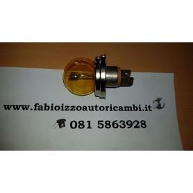 Lampada asimmetrica 6 volt 45/40 watt p45t gialla