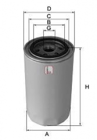 Filtro olio sofima S 0090 R fiamm ft5230