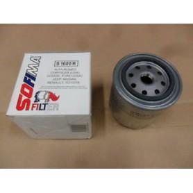 S 1600 R - Filtro olio sofima s1600R
