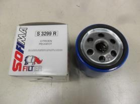 S 3299 R - Filtro olio sofima s3299r