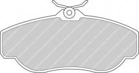 FDB980 - pastiglie freno anteriori - ferodo