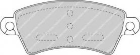 FDB1370 - pastiglie freno anteriori - ferodo