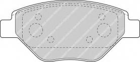 FDB1409 -PASTIGLIE FRENO ANTERIORI RENAULT MEGANE 1.4 16V FERODO CASSA 54/A FERODO