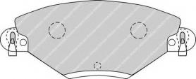 FDB1411 - PASTIGLIE FRENO ANTERIORI CITROEN C5 2.0 16V - 2.0 HDI CASSA 54/A