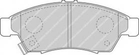 FDB1533 - pastiglie freno anteriori - ferodo
