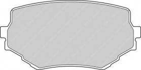 FDB1565 - PASTIGLIE FRENO ANTERIORI SUZUKI VITARA DISPONIBILI FERODO FDB 1565 E TICROULANDS 511TR79A28 CASSA 60/A