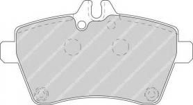 FDB1593 - pastiglie freno anteriori - ferodo