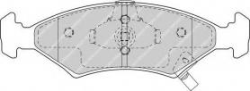 FDB1607 - pastiglie freno anteriori - ferodo