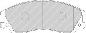 FDB1670 - pastiglie freno anteriori - ferodo