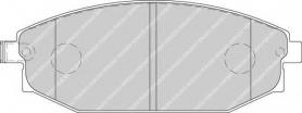 FDB1671 - pastiglie freno anteriori - ferodo