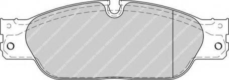 pastiglie freno anteriori - ferodo