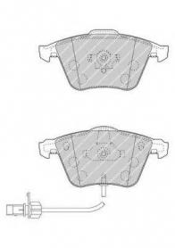 FDB1827 -PASTIGLIE FRENO ANTERIORI AUDI S4 - A8 FERODO CASSA 61/A
