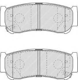 FDB1910 - pastiglie freno anteriori - ferodo