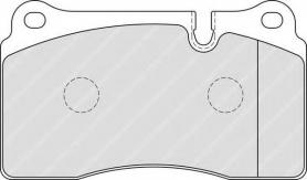 FDB1996 - pastiglie freno anteriori - ferodo
