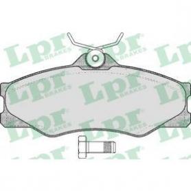 FVR517 - FDB517 - PASTIGLIE FRENO ANTERIORI VOLKSWAGEN TRASPORTER III DISPONIBILI SEFI 360 CASSA 57/A