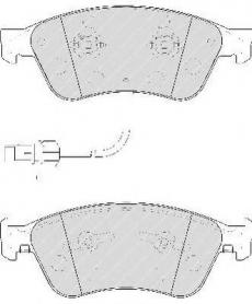 PASTIGLIE FRENO ANTERIORI AUDI A8 - VW PHAETON DISPONIBILI BOSCH 0986494200 CASSA 62/A