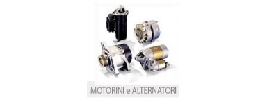 Alternatori motorini elettromeccanica